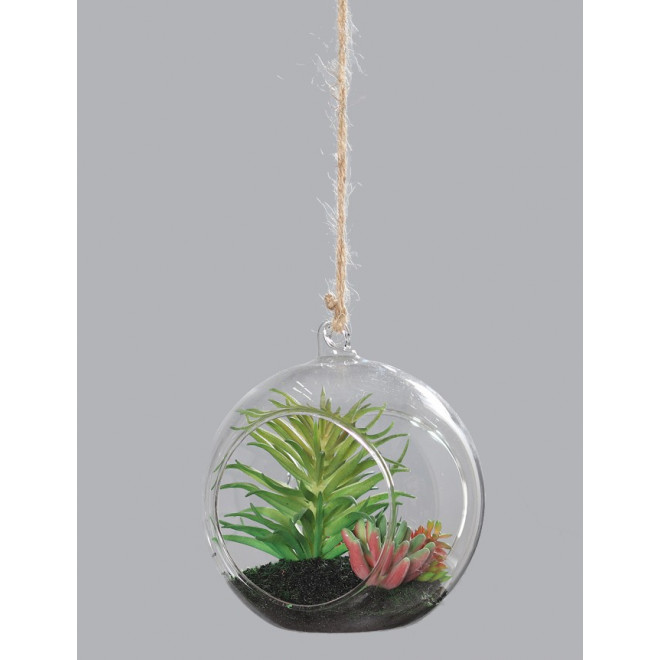 suspension succulente 26 cm