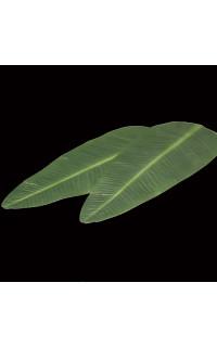 déco de table feuille bananier 49 cm vendu par 2