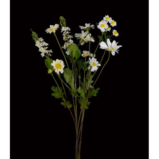 Bouquet champêtre artificiel 60 cm