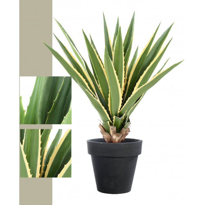 AGAVE FURCRAEA artificielle 80 et 110 cm