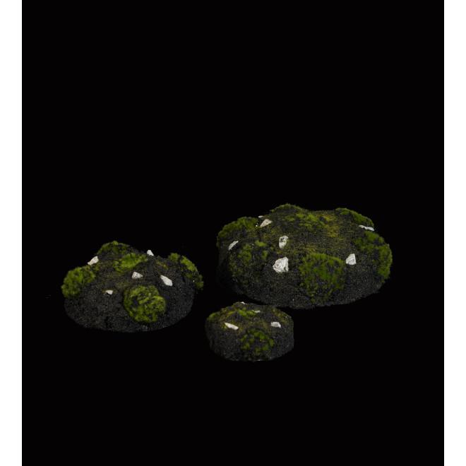 MOTTE de terre et mousse artificielle 3 tailles de 9 à 21 cm