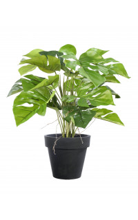 PHILODENDRON artificiel en pot 60 cm