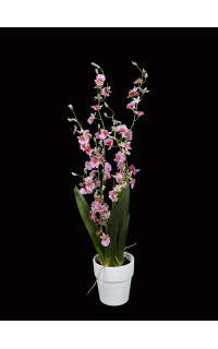 ORCHIDEE artificielle ONCIDIUM 72 cm en pot