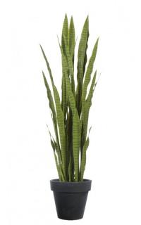 SANSEVIERIA artificiel vert 150 cm