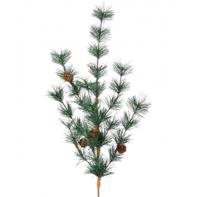 Branche artificielle de SAPIN et pomme de pin 70 cm