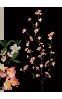Branche de CERISIER 115 cm blanc