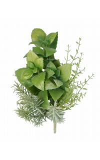 Herbes aromatiques BASILIC artificiel 25 cm