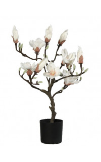 MAGNOLIA artificielle en pot 60 cm