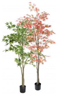 ARALIA artificiel (Erable) vert ou automne 150 à 220 cm