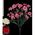 piquet OEILLET artificiel ou DIANTHUS artificiel 48 cm