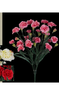 piquet OEILLET artificiel ou DIANTHUS artificiel 48 cm