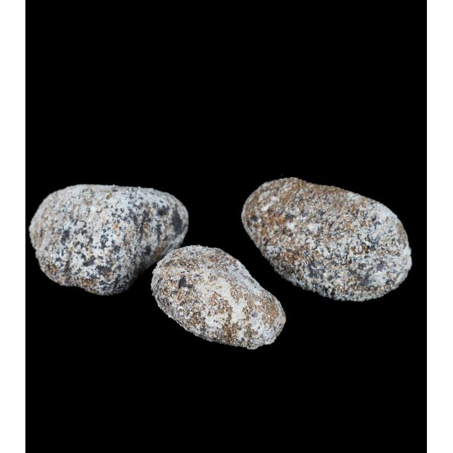 faux cailloux 3 pièces de 12 cm à 15 cm
