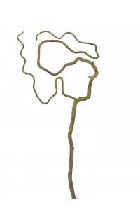 branche NOISETIER TORTUEUX artificielle 78 cm