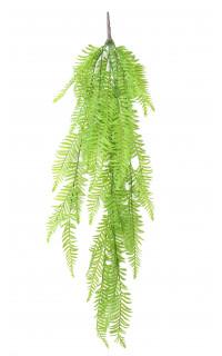 FOUGERE artificielle chute plast vert 100 cm