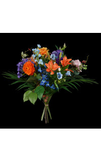 bouquet artificiel 55 cm