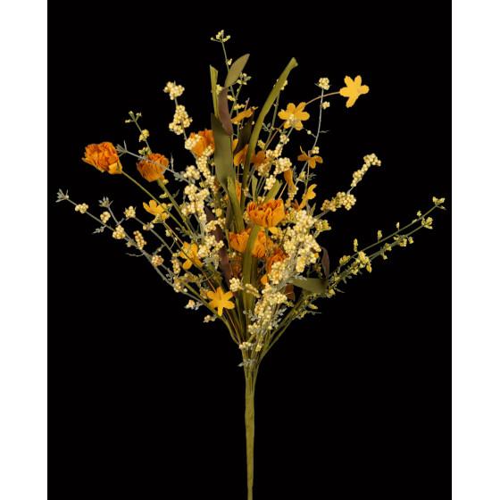 fleurs champêtre esprit séché 56 cm