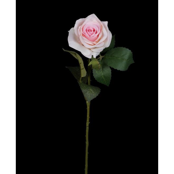ROSE artificielle ouverte 53 cm