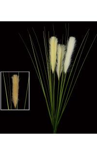 Graminée esprit herbe DE PAMPA artificielle 98 cm vendu par 3