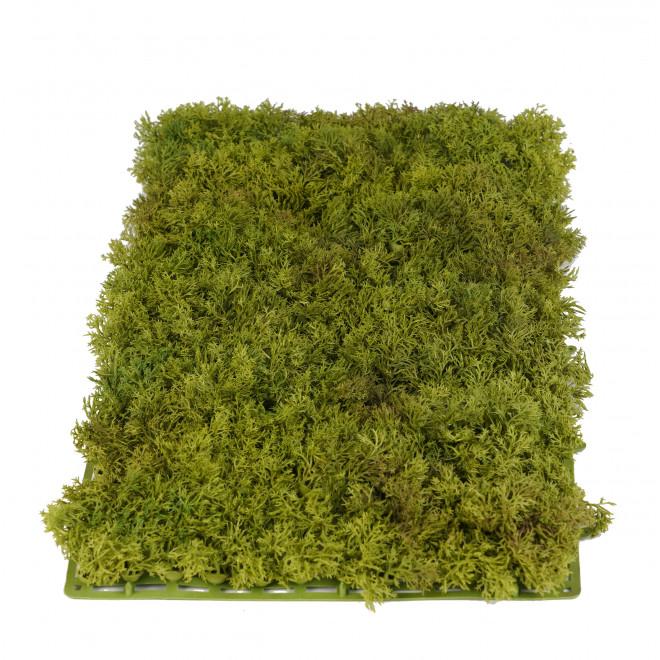 Plaque de mousse ISLANDE artificielle 25 cm x 50 cm