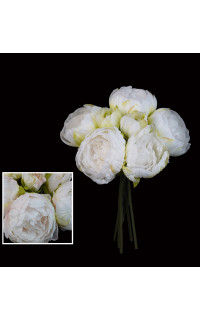 bouquet artificiel PIVOINE 32 cm