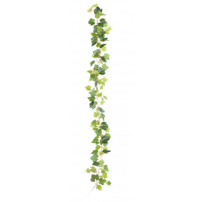 Guirlande FEUILLE DE VIGNE artificielle 200 cm vert