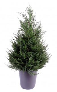 CYPRES artificiel 65 cm vert (junipérus)