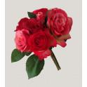 bouquet de ROSES artificielles 28 cm