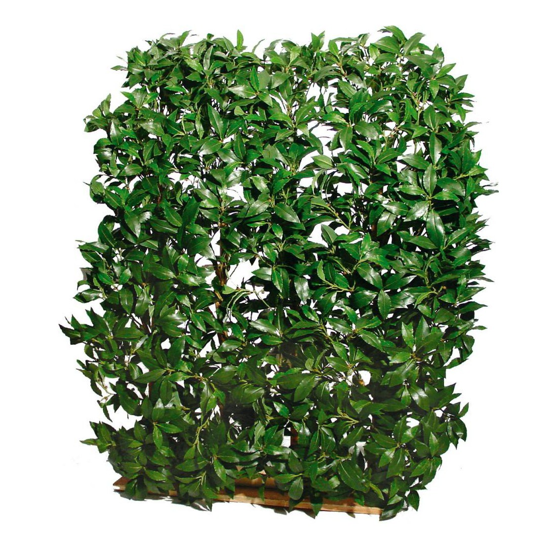 Haie artificielle laurier hauteur 120 cm largeur 90 cm for Plantes a commander
