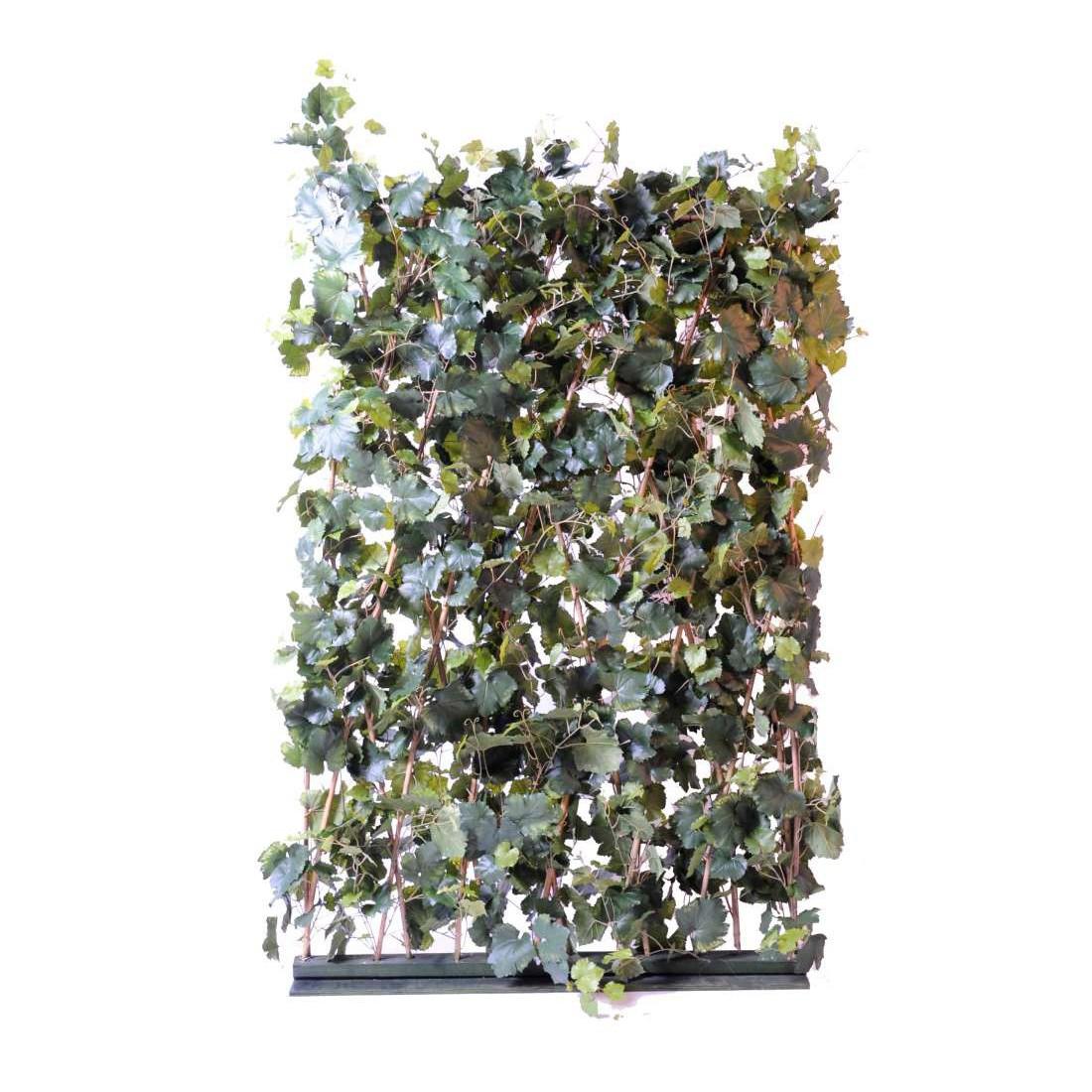 haie artificielle de vigne 180 cm haies et murs vegetaux. Black Bedroom Furniture Sets. Home Design Ideas