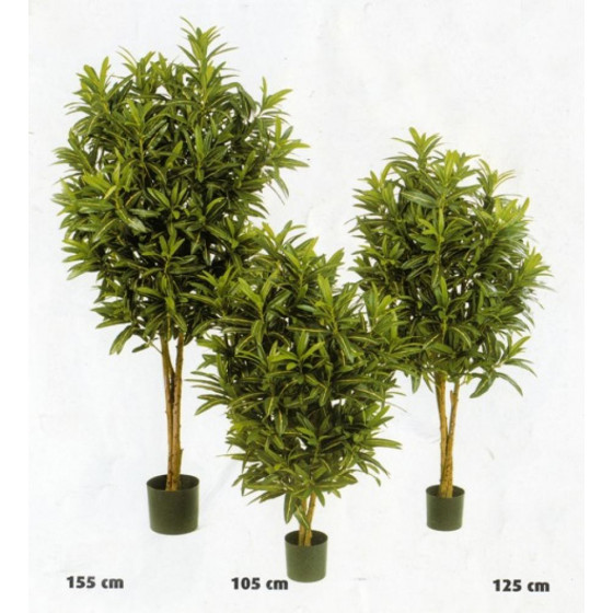 Croton artificiel GOLDFINGER Buisson 105 à 155 cm