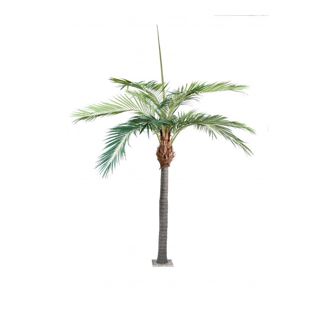 Palmier artificiel 400 cm arbres exotiques reflets nature for Arbre palmier artificiel