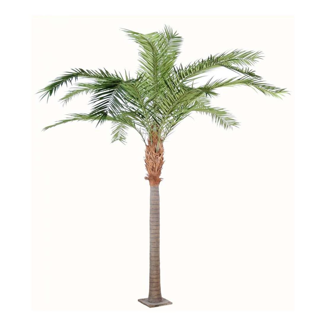 Palmier phoenix artificiel canariensis 350 et 420 cm for Palmier plastique ikea