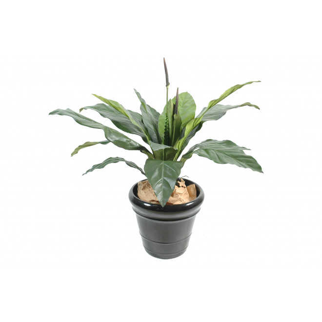 ANTHURIUM artificiel JUNGLE KING 80 et 130 cm
