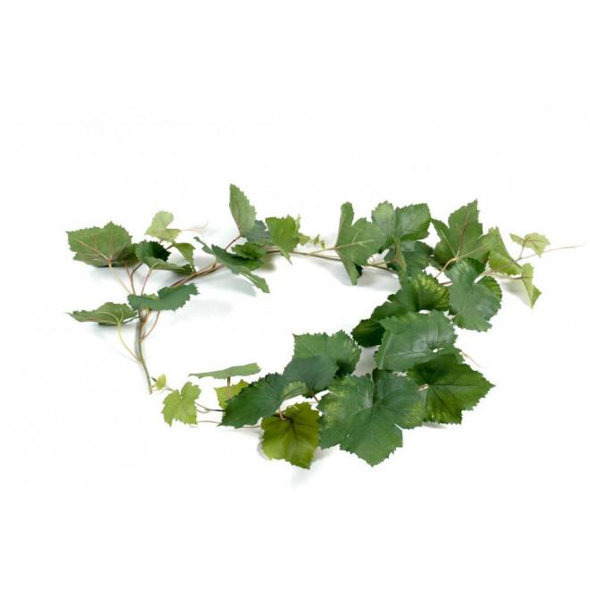 Guirlande feuille de vigne artificielle 118 cm plantes for Plantes artificielles lyon