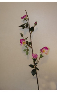 ROSE artificielle EGLANTINE 76 cm