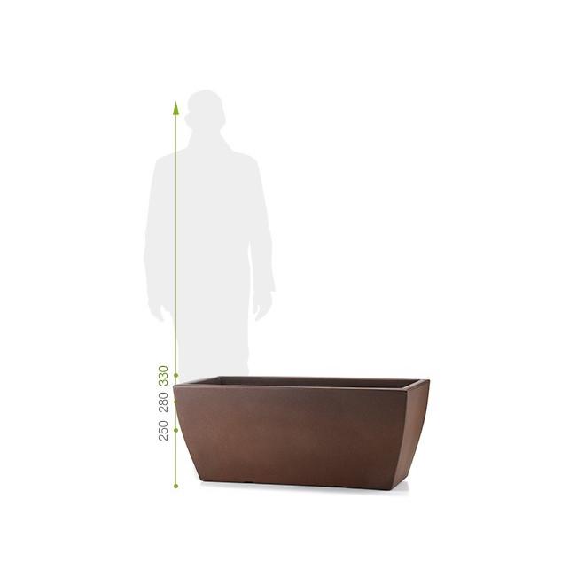jardinière voghera L 58 cm