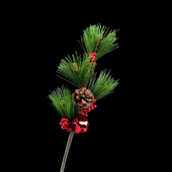 Branche de PIN artificiel GRELOT 35 cm