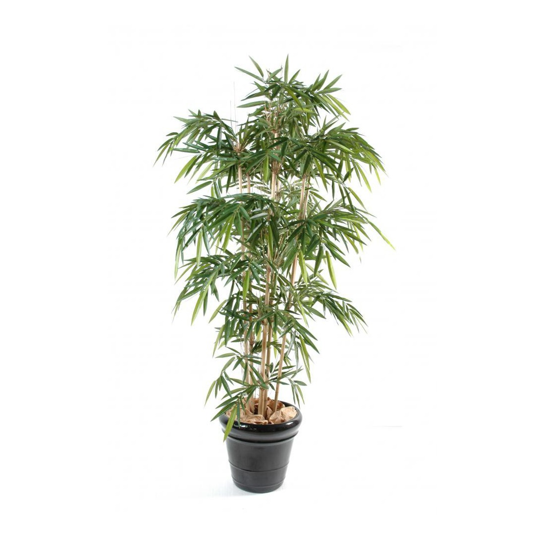 Bambou artificiel new 120 300 cm bambous artificiels for Plantes bambou exterieur en pot