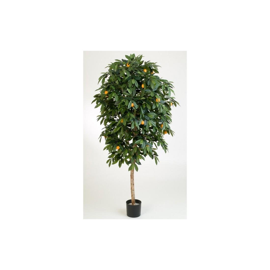 mandarinier artificiel arbre 110 170 cm arbres mediterraneens reflets nature lyon. Black Bedroom Furniture Sets. Home Design Ideas