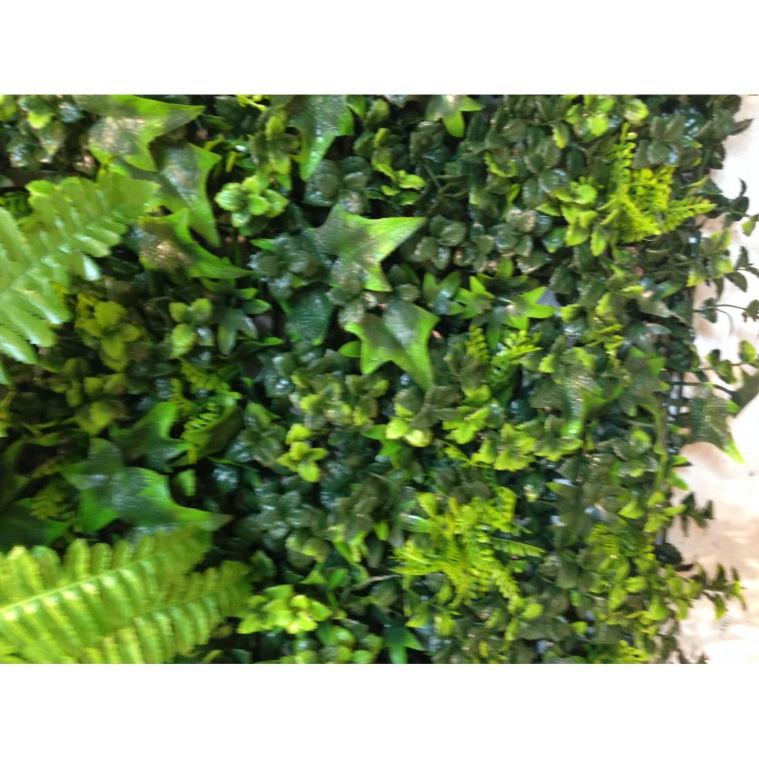 mur vegetal 100 x 100 cm pour exterieur reflets nature lyon. Black Bedroom Furniture Sets. Home Design Ideas