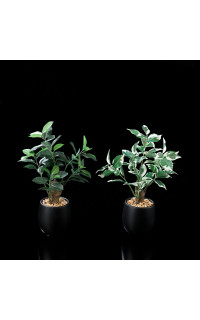 FICUS artificiel en pot  28 cm