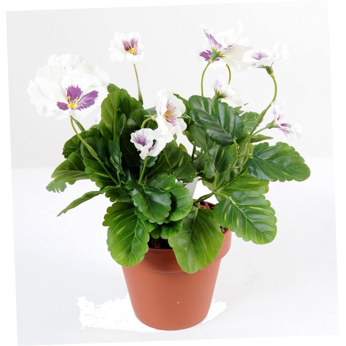 Pens e pm 29cm plantes artificielles plantes fleuries for Plantes artificielles lyon