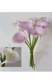 ARUM artificiel mini ou CALLA artificiel 33 cm