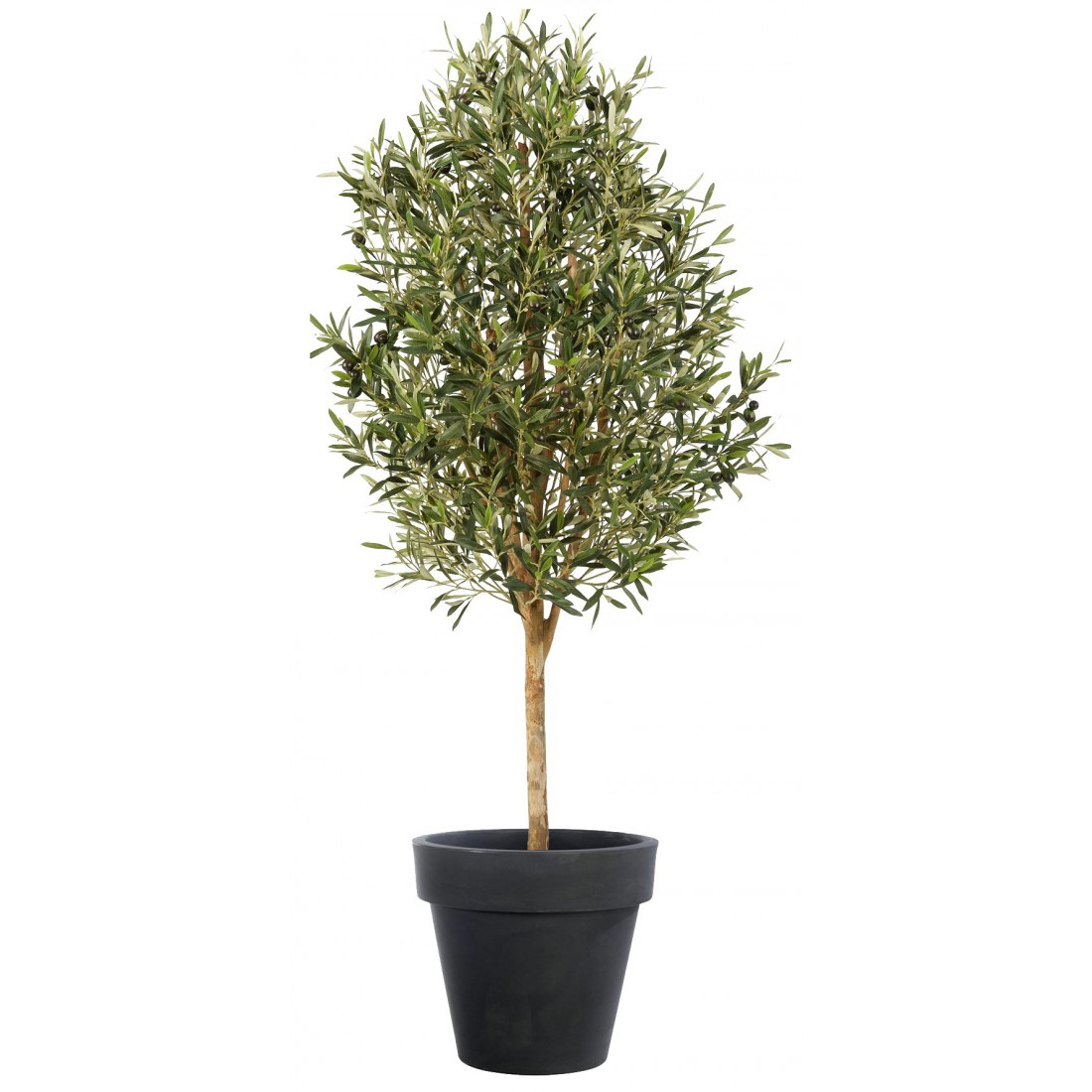 Olivier artificiel naturel 140 et 170cm arbres for Oliviers artificiels