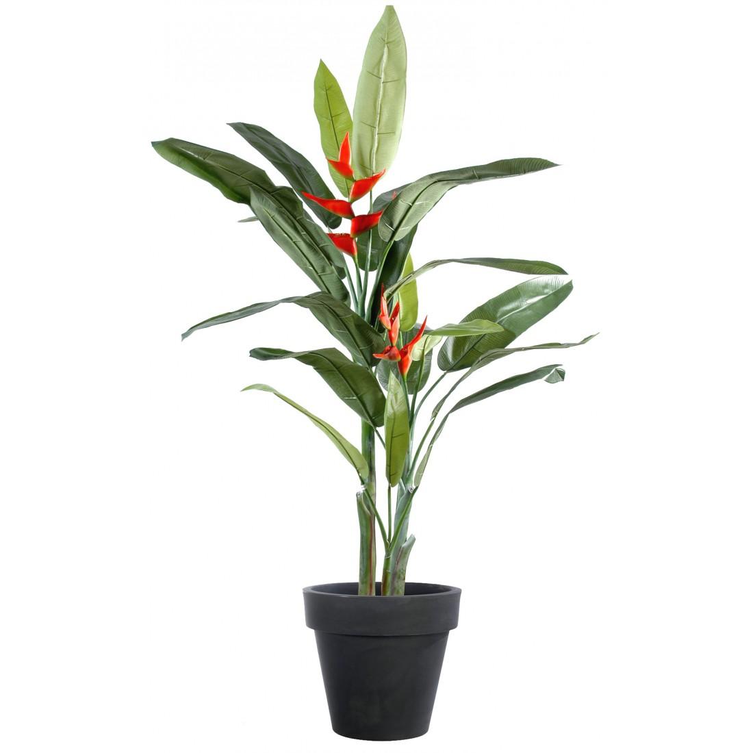 Heliconia artificiel 180 cm arbres exotiques reflets for Plantes artificielles lyon