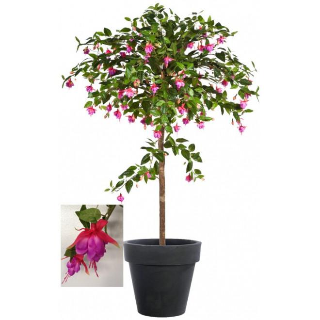 Fuchsia artificiel umbrella 140 cm autres arbres fleuris for Arbre factice