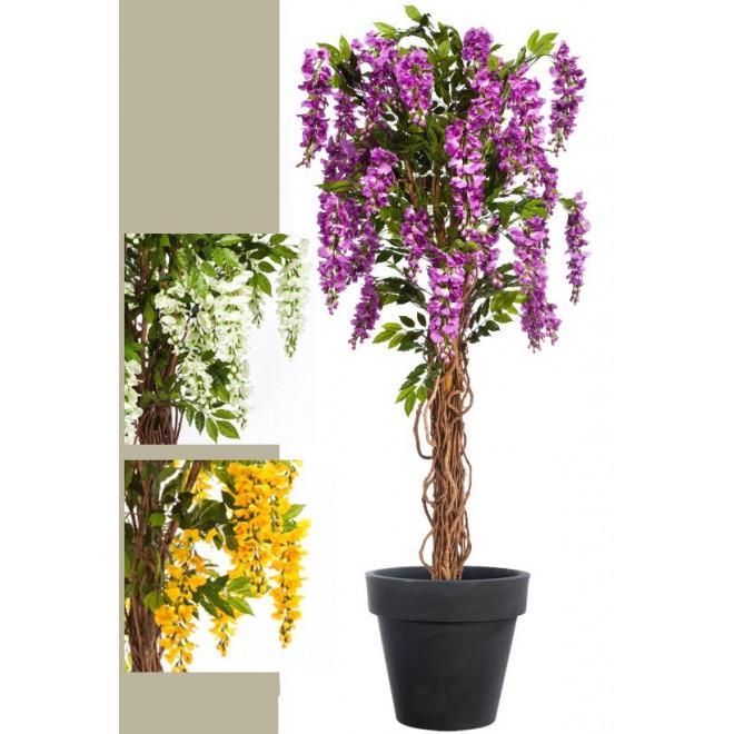 Glycine artificielle 180 cm autres arbres fleuris for Arbre factice
