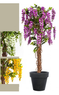 GLYCINE artificielle liane 180 cm