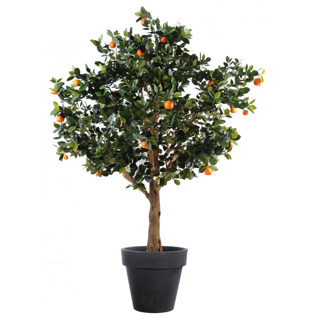 oranger artificiel arbre 210 cm arbres mediterraneens reflets nature lyon. Black Bedroom Furniture Sets. Home Design Ideas