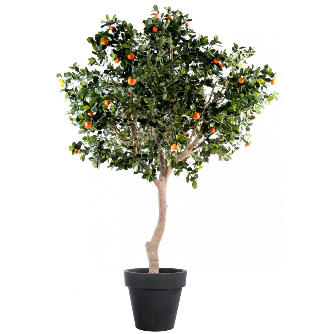 Oranger artificiel arbre large 280cm arbres mediterraneens fruitiers artificiels artificielles - Arbre fruitier en pot ...